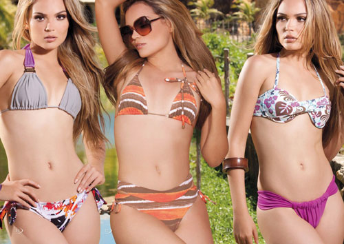 Brazilian supermodel, Debora Campos