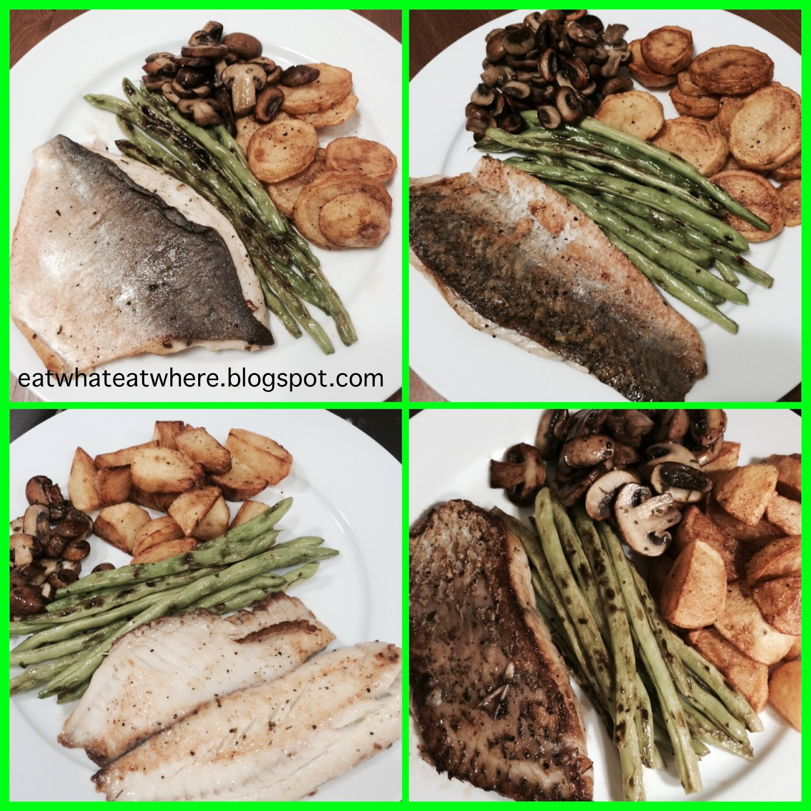 Eat what eat where ewew cooks pan fried frozen fish for What to serve with fish fillets