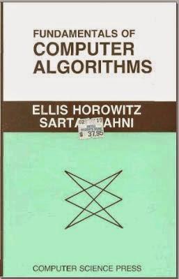 FUNDAMENTALS OF COMPUTER ALGORITHMS BY SARTAJ SAHNI PDF FREE DOWNLOAD