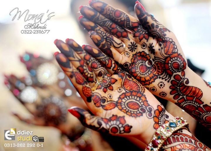 Mehndi Design For Bridal Collection : Mehndi designs kashee beautiful collection for girls