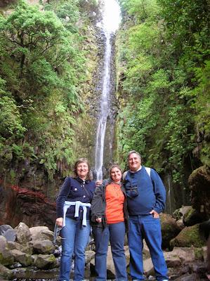 Cascada de la Levada das 25 Fontes, Madeira, Portugal, La vuelta al mundo de Asun y Ricardo, round the world, mundoporlibre.com