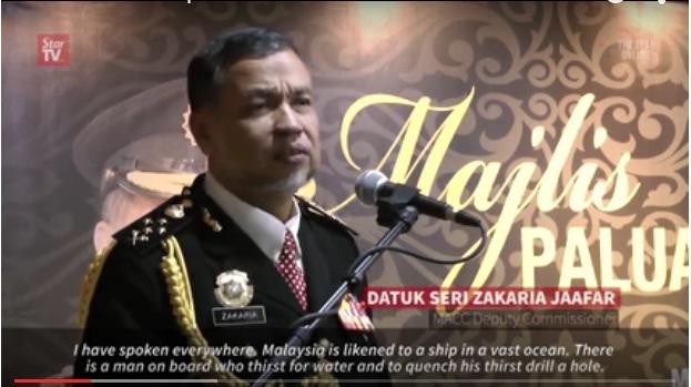 Ucapan PANAS Timb Ketua Pesuruhjaya SPRM Di Hari Terakhir Kerjayanya (A loaded farewell speech)