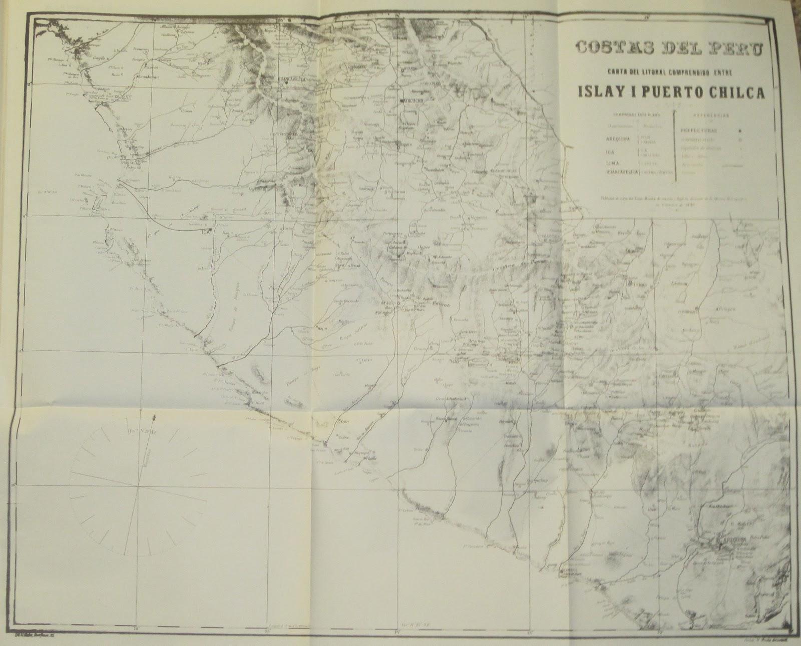 Mapas que us Chile en 1879 para invadir Per y Bolivia