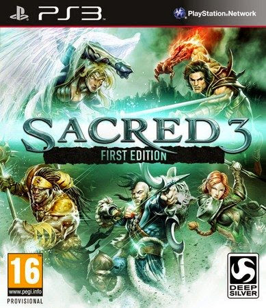 Sacred 3 First Edition PS3 Español Region EUR