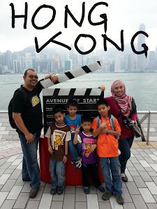 PERCUTIAN KE HONG KONG :