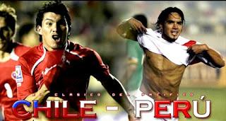 Partido Chile Vs Perú ¡el Clásico del Pacifico!