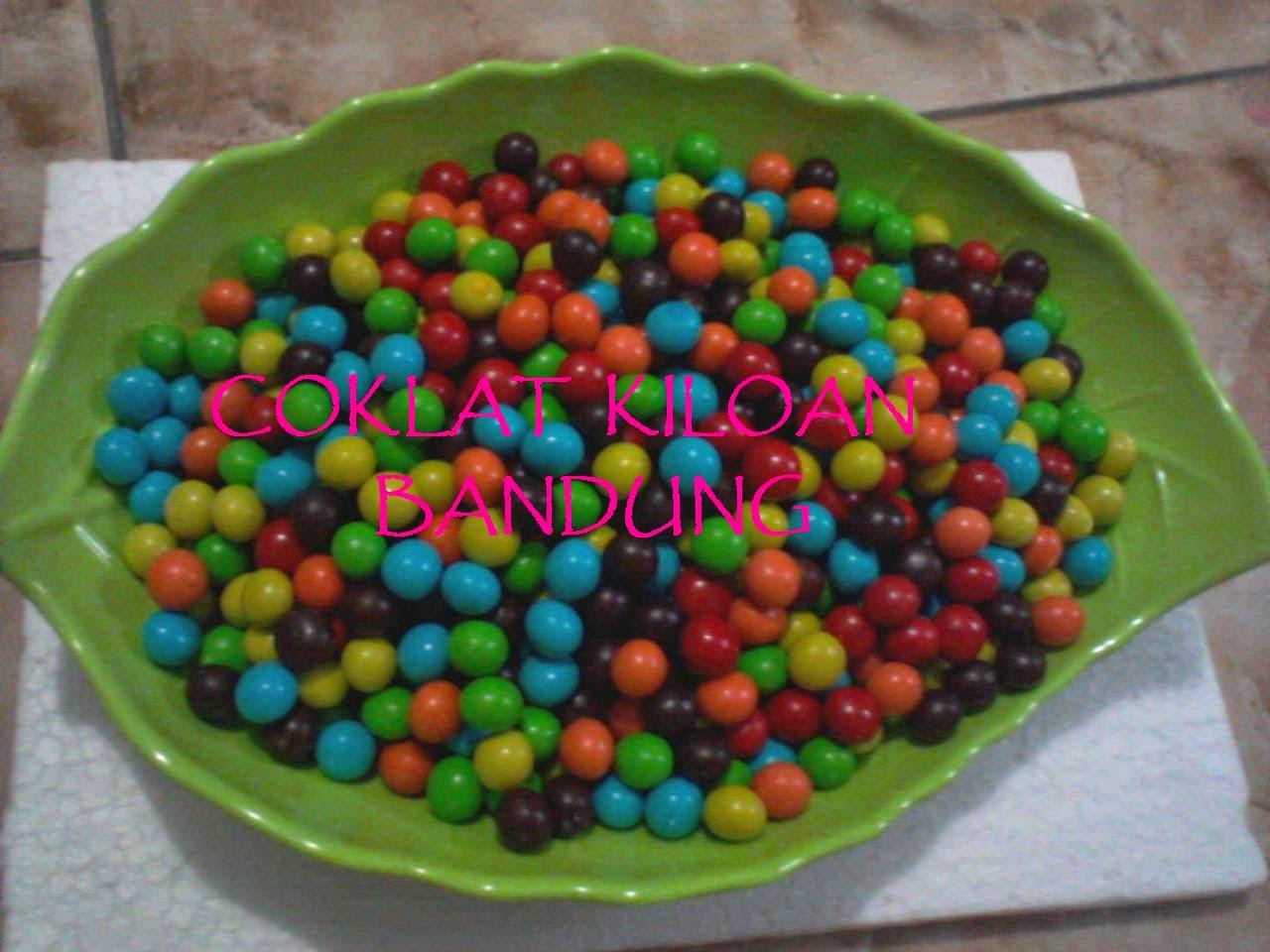 Coklat Kiloan Murah - choco balls mini Warna ( L'AGIE)