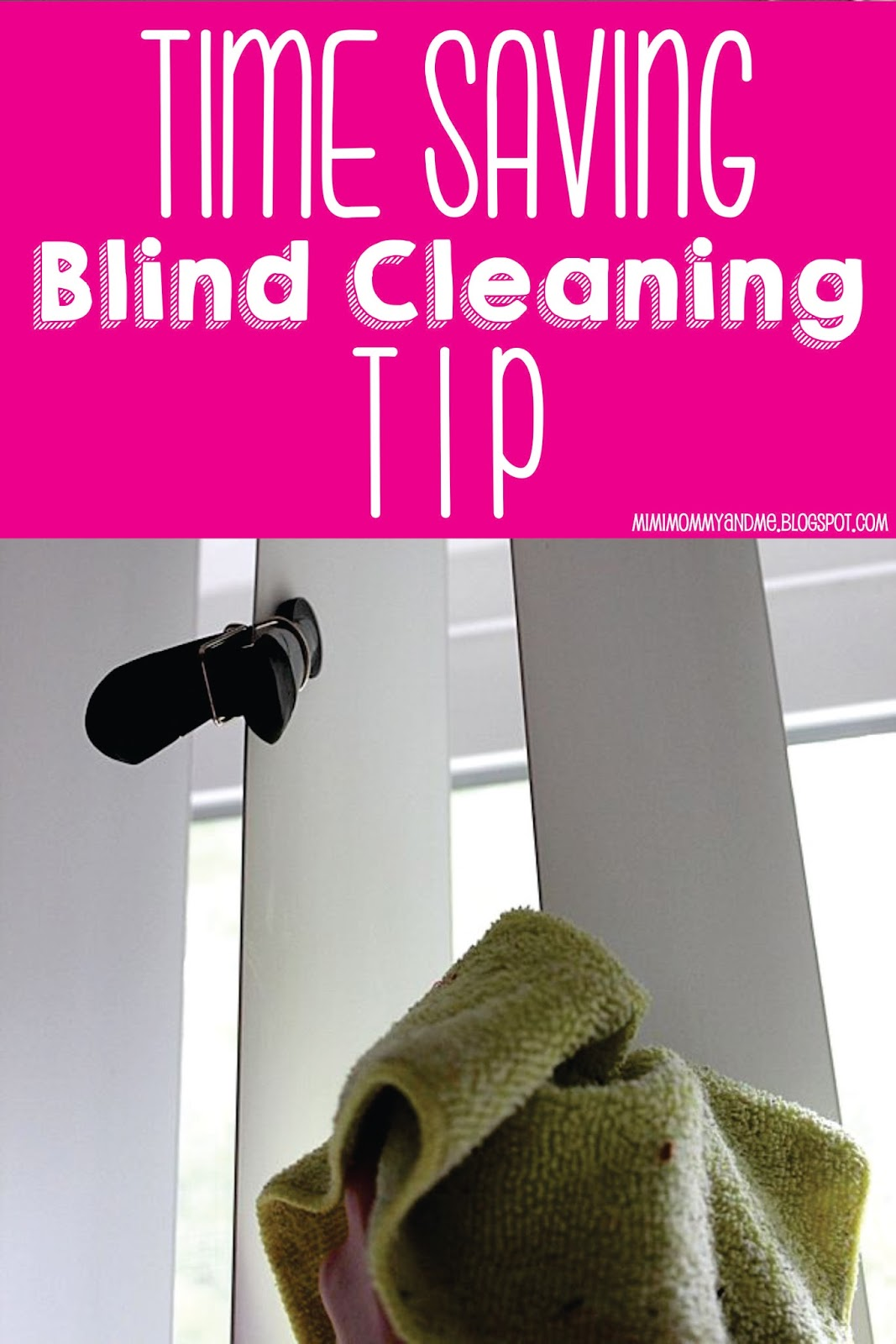 Time Saving Blind Cleaning Tip
