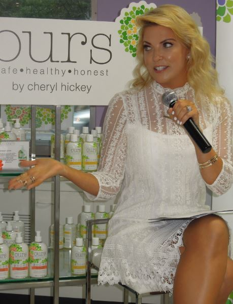 Ours by Cheryl Hickey introduces a line of safe and healthy skin care for the whole family!