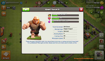 clash of clans, game online android latihan strategi perang