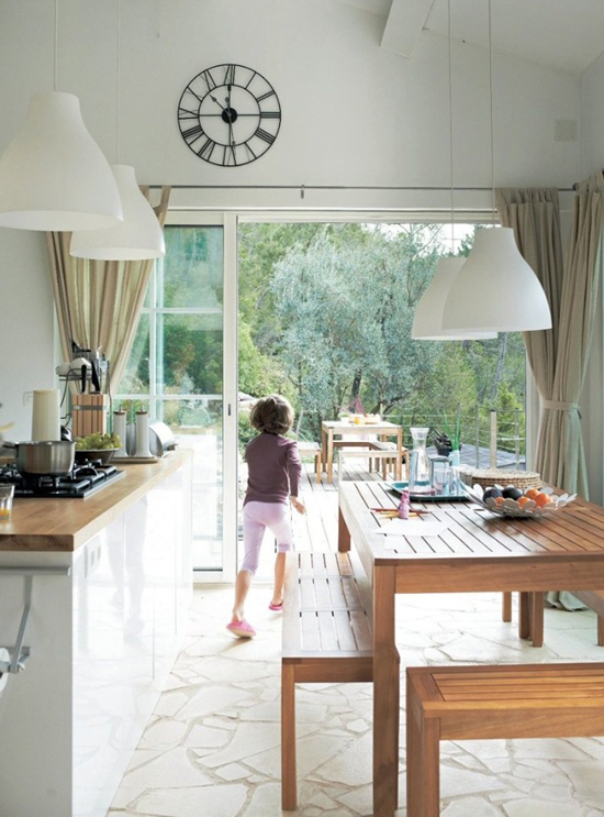 A renovated barn house for a family of four in the French countryside via IKEA Family Live. #country #home