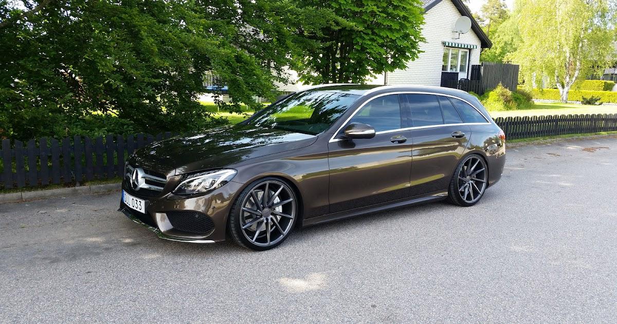 Mercedes Benz S205 On R20 Vossen CVT Rims BENZTUNING