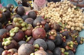 buah buahan tempatan yang dijual