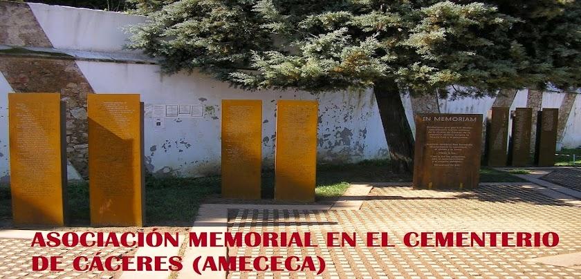 Asociación Memorial en el cementerio de Cáceres (AMECECA)
