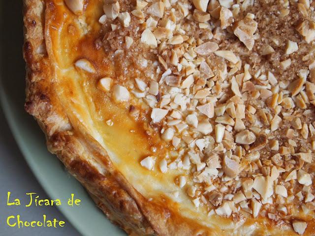 Tarta de Hojaldre y Almendras