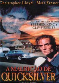 Filme Poster A Maldição de Quicksilver DVDRip XviD & RMVB Dublado