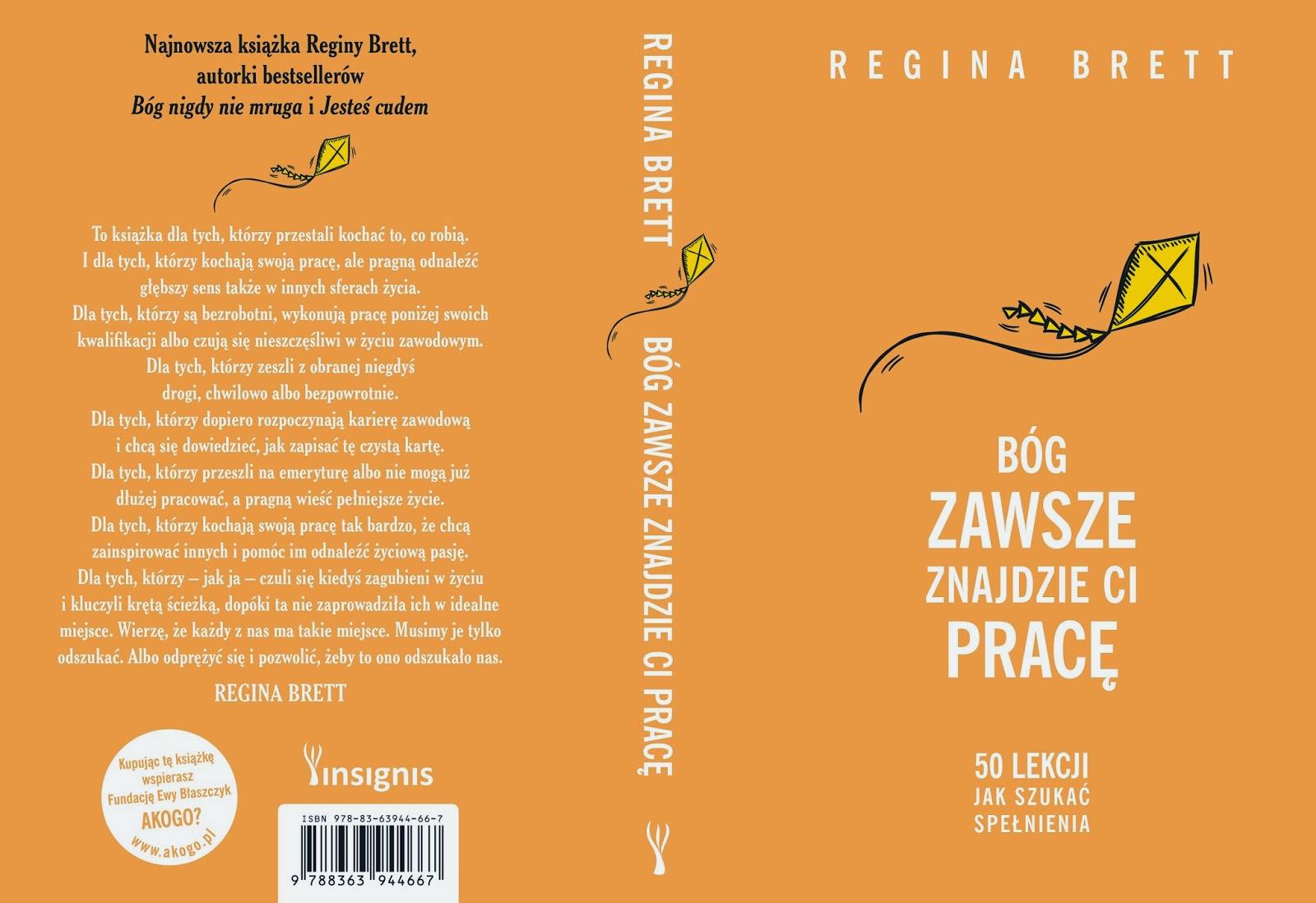Regina Brett w Polsce.