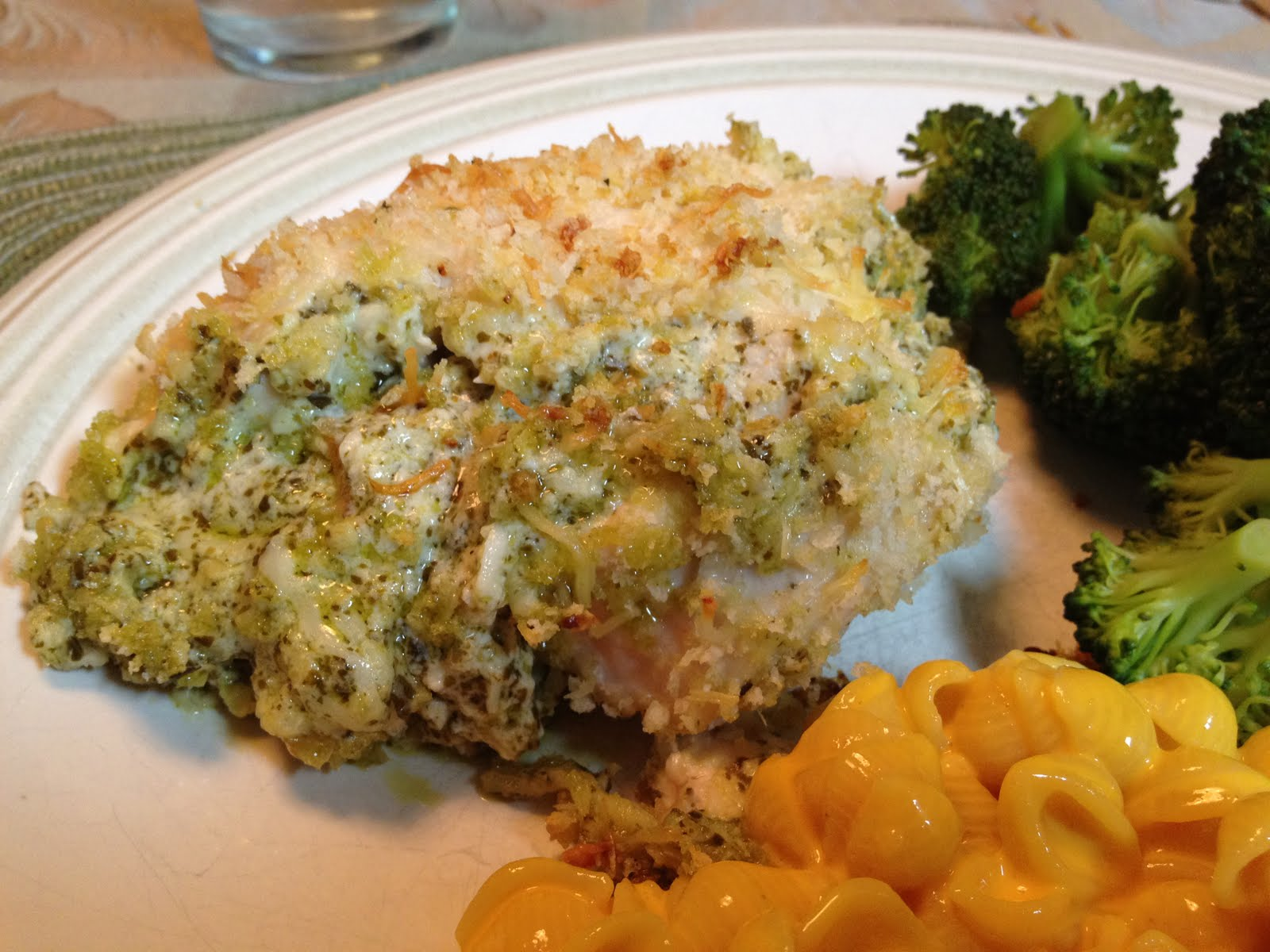 I Steal Great Recipes: Baked Chicken Stuffed with Pesto ...