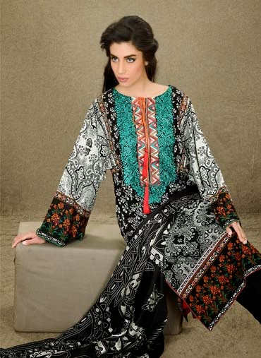 Pakistani Summer Lawn Prints 2015