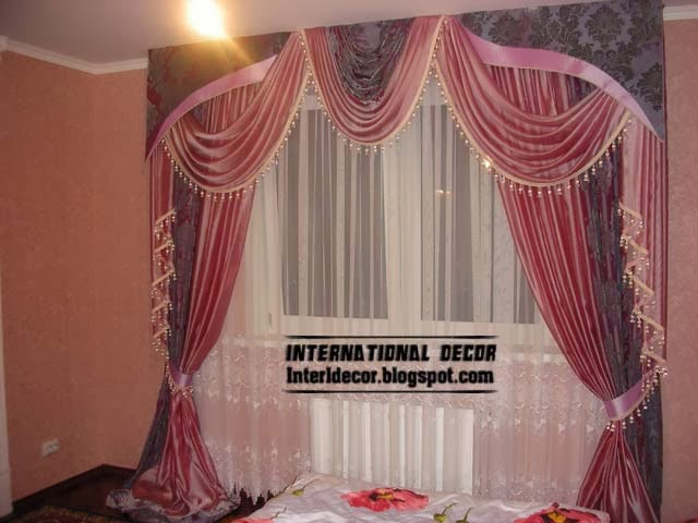 luxury curtains for bedroom latest curtain ideas for bedroom. Black Bedroom Furniture Sets. Home Design Ideas