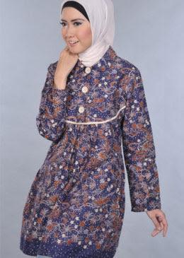 Model Baju Batik Modern 2014 Holidays Oo