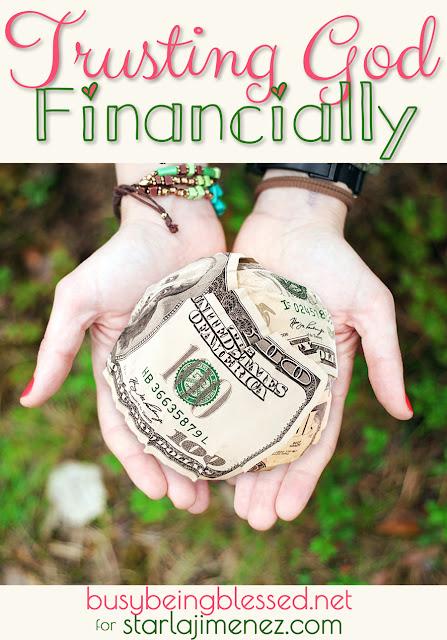 Trusting God Financially