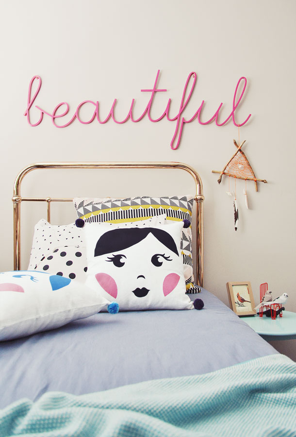 Sweet Babushka Pom Pom Cushion Image