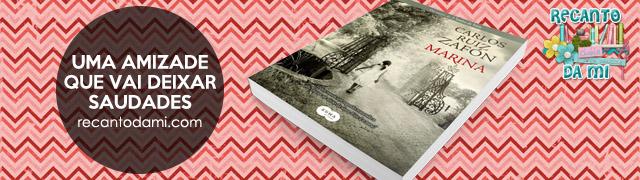 Uma amizade que vai deixar saudades Marina - Carlos Ruiz Zafón Editora Suma de Letras