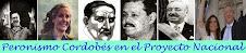 Peronismo Cordobés en el proyecto Nacional