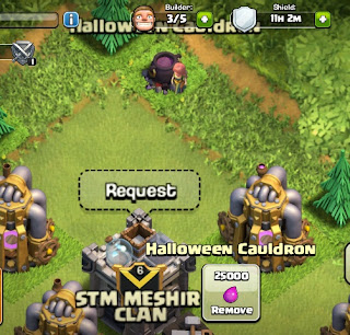 Hallowen Cauldron