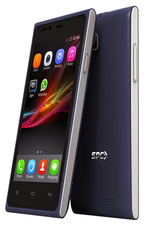 Spesifikasi dan Harga SPC S12 Razor, Smartphone Android Kitkat Termurah Di Indonesia