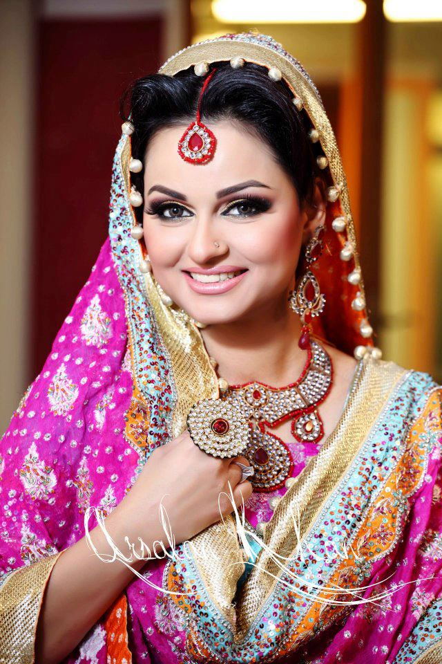 Pakistani Drama Actress Javeria Abbasi  Mayoon , mehndi ,Wedding Images.