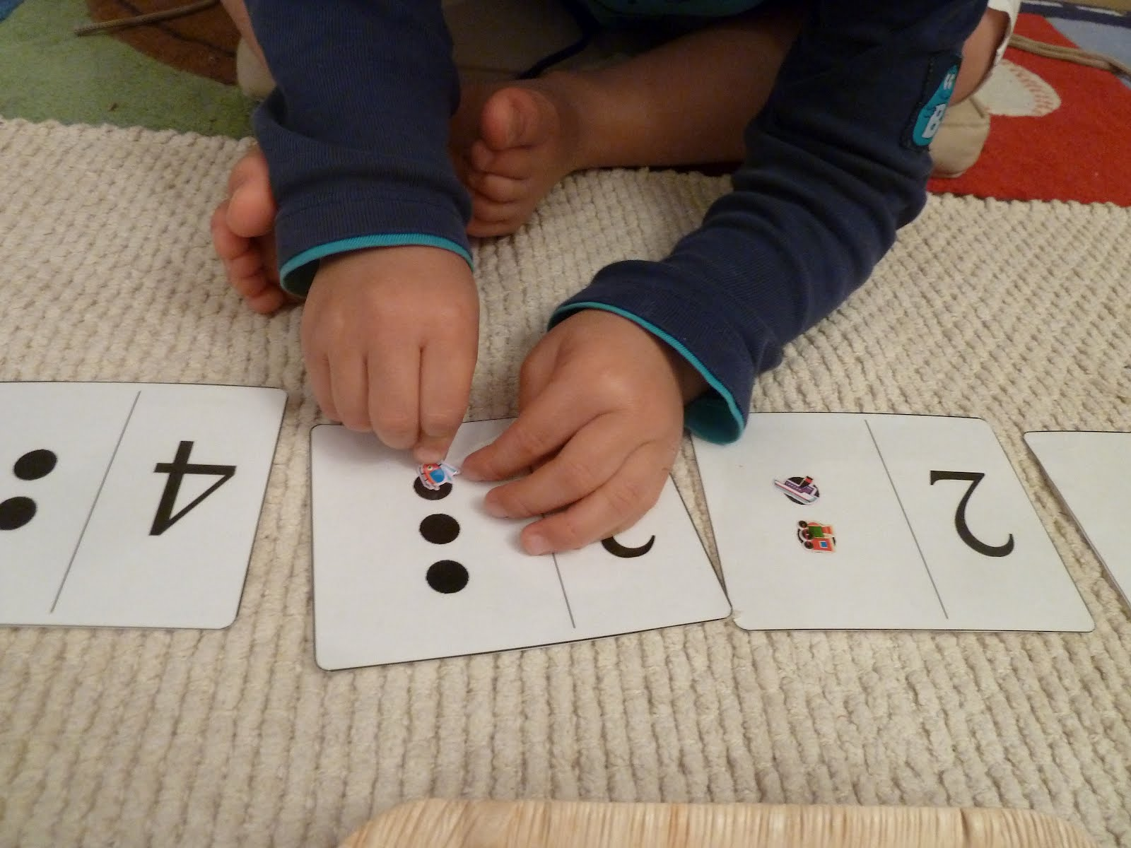 4 year old arts and crafts - Montessori Activity Counting And Numeral Recognition With Stickers Age From 3 5 Years Old