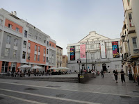 Plaza de Jerónimo Cuervo-Teatro Cervantes, Centro Histórico de Málaga