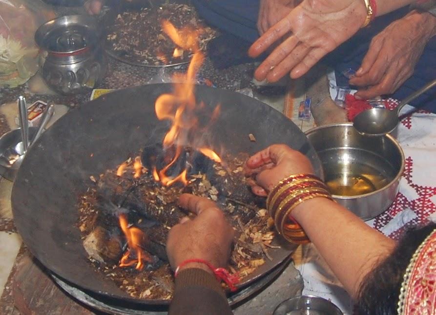 sanskrit pre-wedding ritual