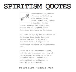 Spiritism Quotes