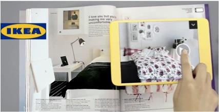 ikea se met la r alit augment e branding buzziness. Black Bedroom Furniture Sets. Home Design Ideas