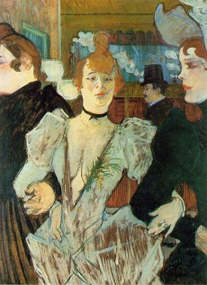 Toulouse-Lautrec y su musa en la Courtauld Gallery