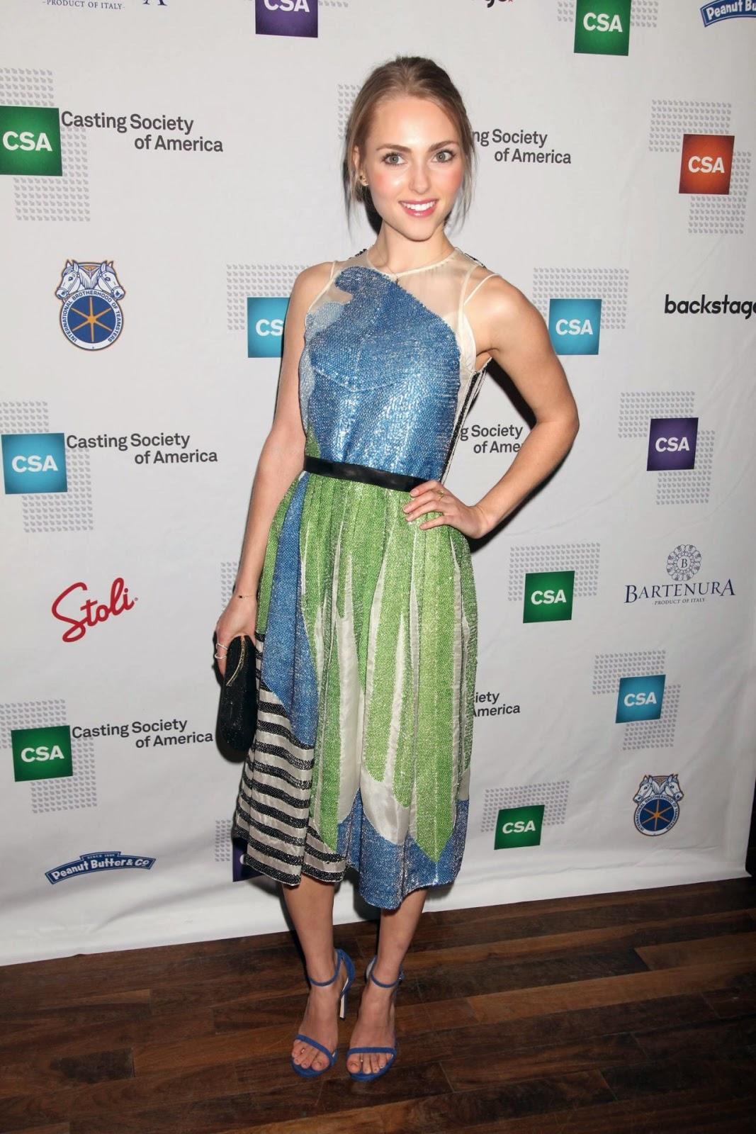 AnnaSophia Robb at 30th Annual Artios Awards for Casting in NY