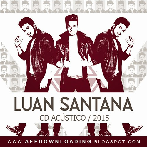 Capa do CD Luan Santana - Acústico - 2015