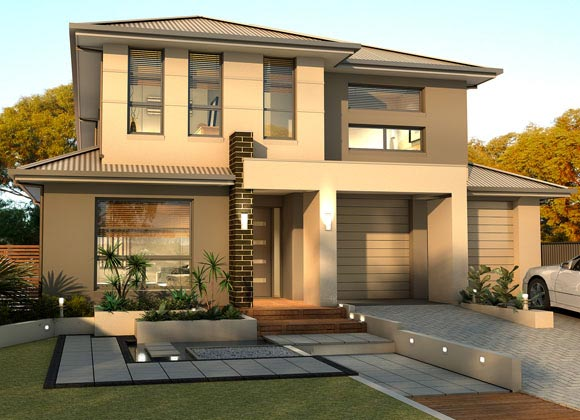 Beautiful modern homes designs for Beautiful contemporary house designs