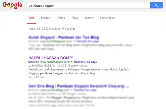 Panduan blogger hasrulhassan
