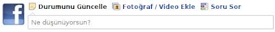 degisik facebook durum guncellemeleri