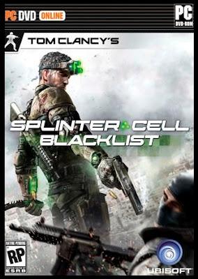 Splinter Cell Blacklist Cover