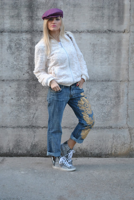 outfit jeans boyfriend come abbinare i jeans boyfriend abbinamenti jeans boyfriend jeans boyfriend decorati how to wear boyfriend jeans how to combine boyfriend jeans boyfriend jeans street style boyfriend jeans street style outfit dicembre 2015 december outfits outfit casual invernali outfit casual autunnali outfit sporty fall casual outfit mariafelicia magno fashion blogger colorblock by felym fashion blog italiani fashion blogger italiane blog di moda blogger italiane di moda fashion blogger bergamo fashion blogger milano fashion bloggers italy italian fashion blogger influencer italiane italian influencer italian fashion bloggers