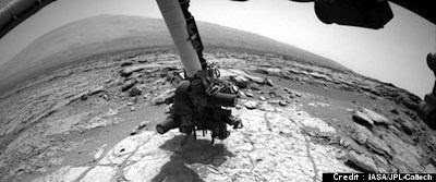 Mars Rover Curiosity To Drill Into Rock for The First Time, Says NASA