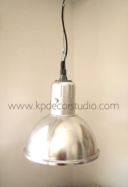Kp decor studio estilo industrial y paredes negras industrial lamps and dark walls - Lampara industrial vintage ...