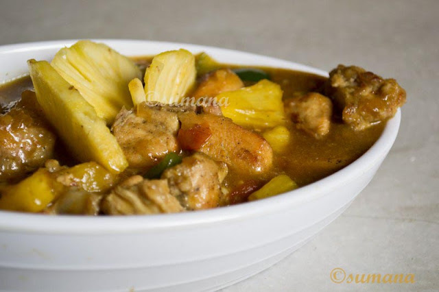 Pineapple, Chicken, Fruit chicken, Chicken recipes