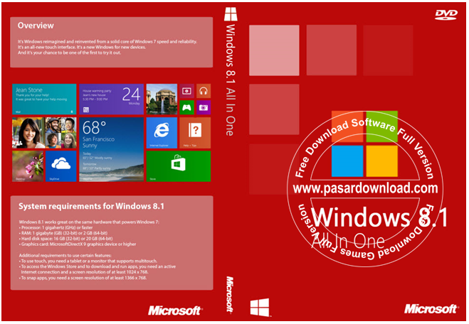 Download Windows 8.1 AIO 24in1 x86 x64 Update Juni 2014 With Serial Number