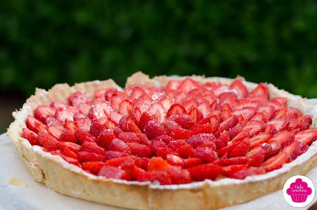 Tarte aux fraises façon Emilie Sweetness